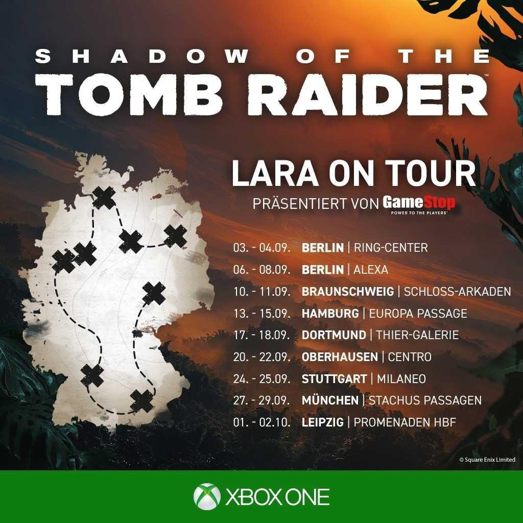 Lara on Tour