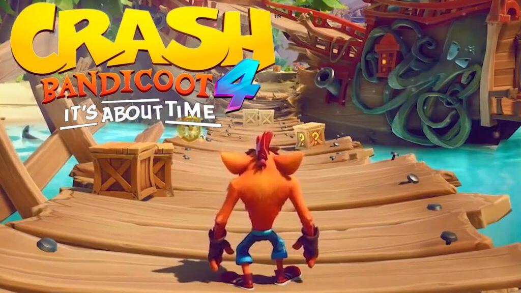 Crash Bandicoot 4 Logo