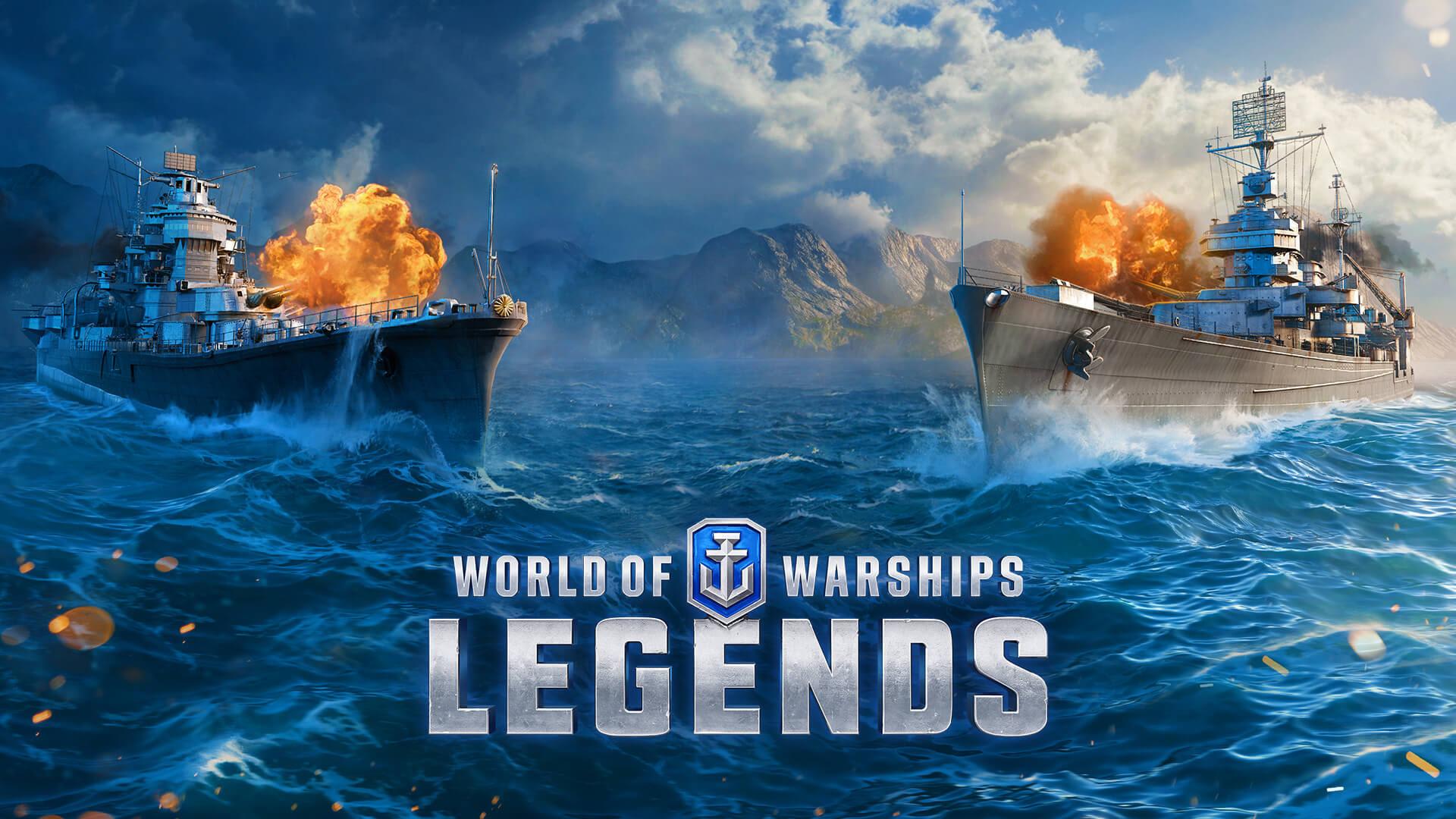 world of warships legends logo