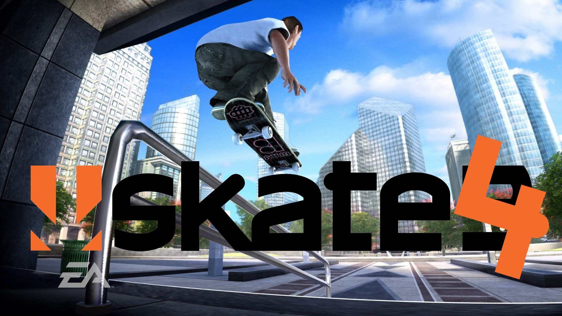 Skate 4 Logo